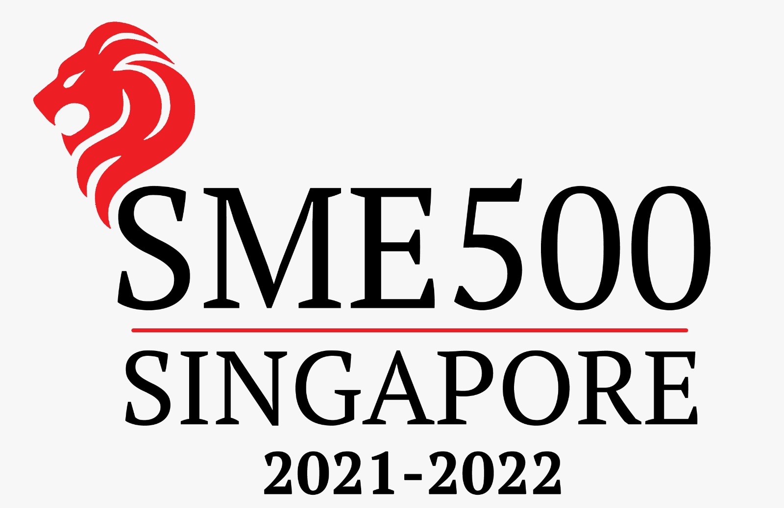 Recognized as Singapore's Top 500 SME For the Year 2021